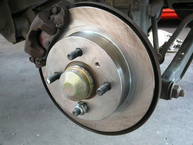 Brake Rotor Fitted