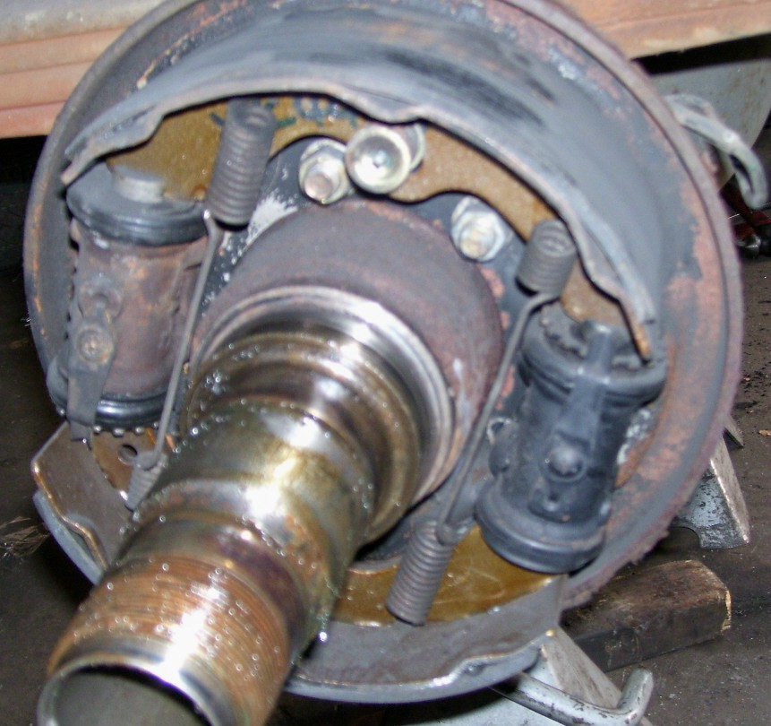 Brake Drums And Linings : Geddes brake linings drum replace