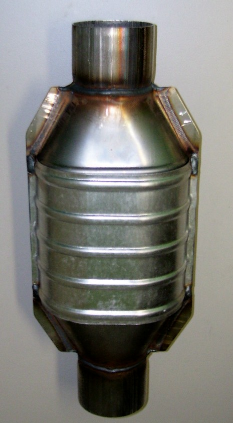 Oval Catalytic Converter
