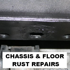 CHASSIS RUST REPAIRED