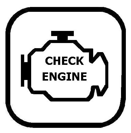 Engine Check Light Dash Light