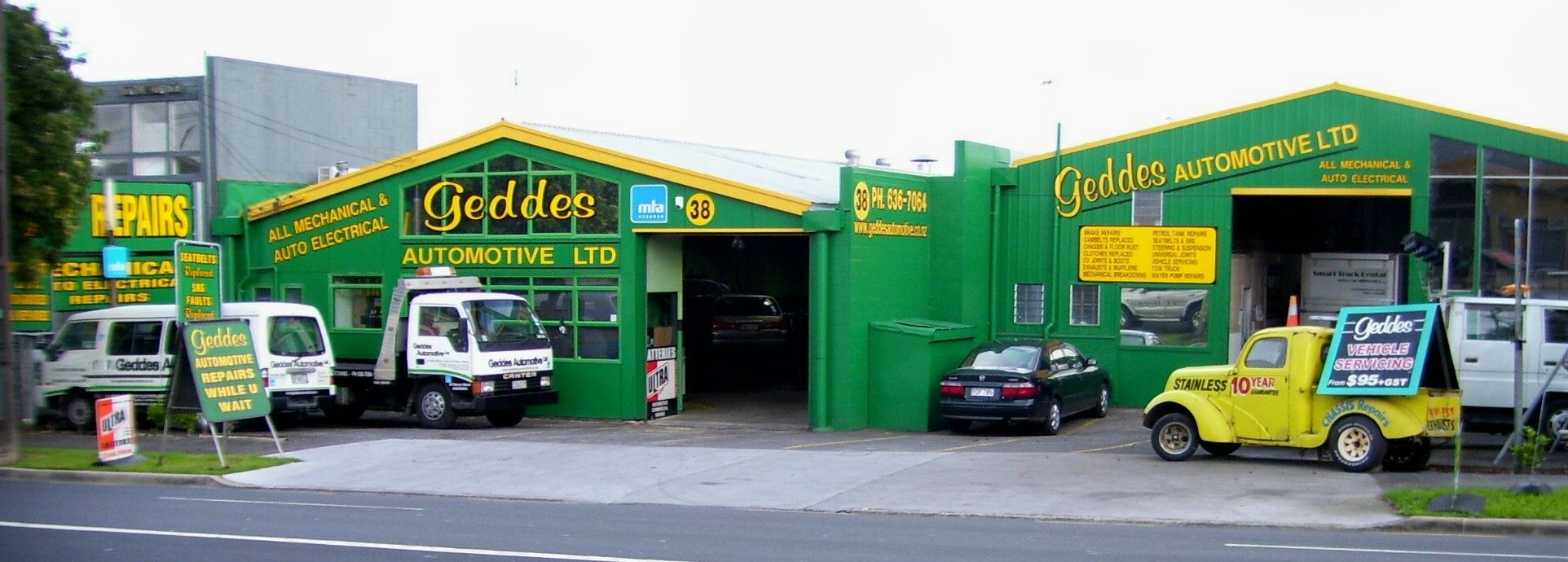Geddes Automotive Garage