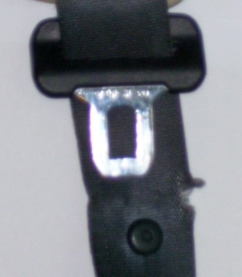 DAMAGED SEATBELT