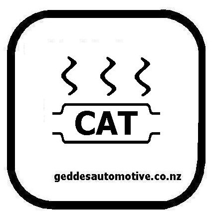 Catalytic Converter Symbol Light