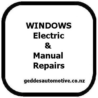 Fiat auto electric windows repaired